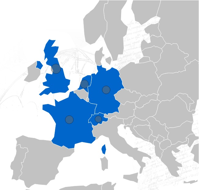 Full Partner Map Europe